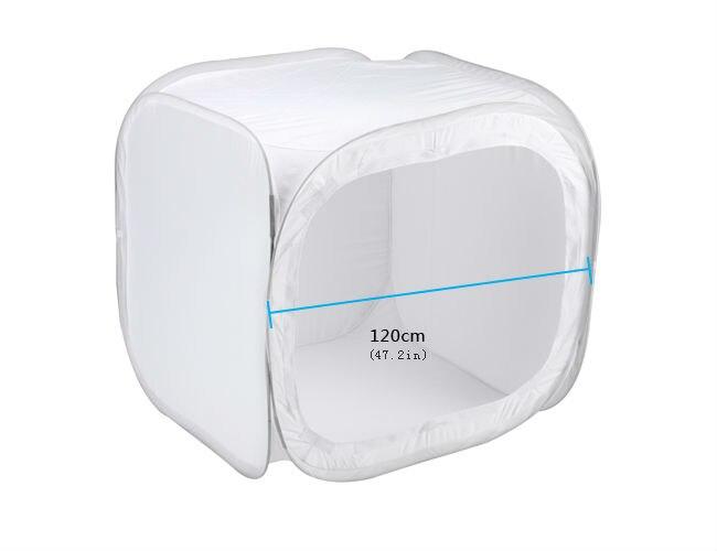 120 см/48 дюймов 4 складной портативный фото видео бокс освещение студия съемки палатка коробка комплект диффузный студия софтбокс Лайтбокс