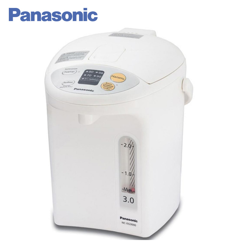 Panasonic NC-EG3000WTS Electric Air Pot 700W 3L Self-cleaning function Temperature maintenance function купить недорого в Москве