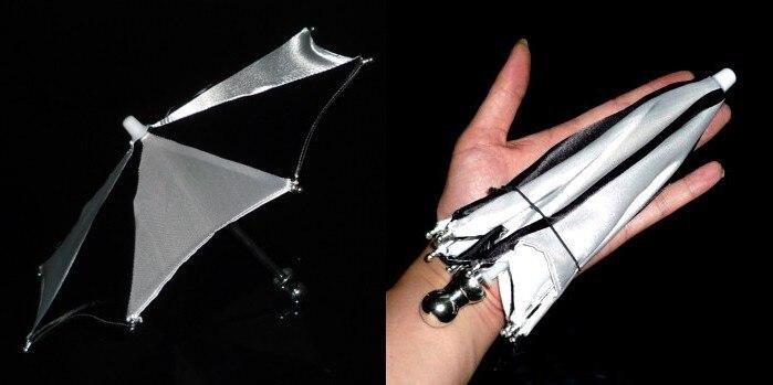 Super Mini parapluie magique, 21 cm (3 couleurs disponibles) tour de magie accessoire de scène accessoire accessoire apparaissant jouets classiques drôles - 2