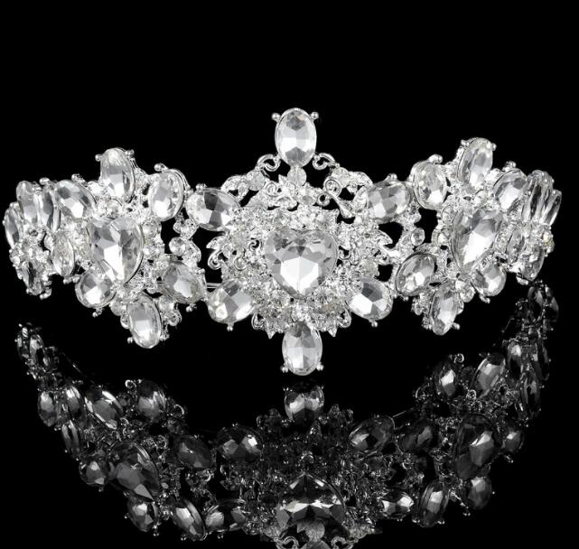 pas cher ceystal hairband femmes strass fleur bijoux de cheveux diadme en cristal cheveux la - Diademe Mariage Pas Cher