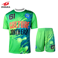 2016 Latest Design Sublimation Custom Soccer Jersey Top Quality Free Shipping