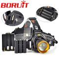 2000 Lumen XML T6 LED Headlamp Headlight  3 Modes LED Head Light Lamp for Bicycel by 3-IN-1  3*AAA /3*AA /2*18650
