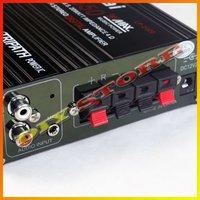 оптовая продажа черный ta2020 мини-цифровой аудио усилитель мощности автомобиля усилитель + блок питания + бесплатная доставка - 10000129