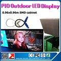 Открытый 3535SMD RGB P10 из светодиодов панели 38 x 38 дюйм(ов) водонепроницаемый из светодиодов видео панель P10 открытый 3528smd с airplug кабели