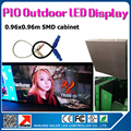 Outdoor 3535SMD RGB P10 LED display  panel 38x38 inches waterproof led video panel p10 outdoor smd with airplug cables