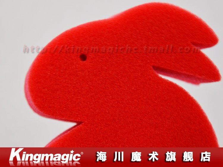 Kingmagic Губка Кролики Волшебные кролики магия реквизит Волшебные трюки указан-Джамбо Губка Кролик 10 шт./лот