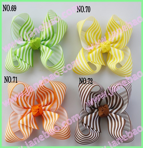 Разноцветные 1000 шт. 3.5 ''бутик волосы луки аксессуары
