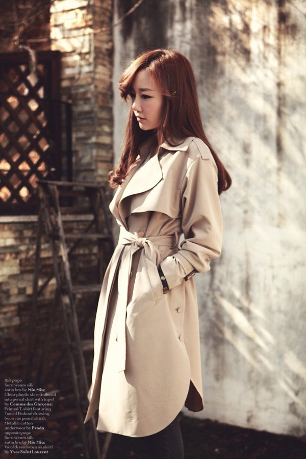 JAZZEVAR 19 new spring autumn fashion Casual women's khaki Trench Coat long Outerwear loose clothes for lady with belt 850115 9
