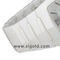 горячая! fashdon мужская белый керамические часы, просто завод часы, роскошные керамические, внимательное обслуживание