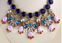 ювелирные изделия мода ювелирные изделия пузырь negro цвет кристалл себе ожерелье
