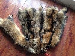 China Wholesale Natural Raccoon Skin / Raccoon Skin Fur