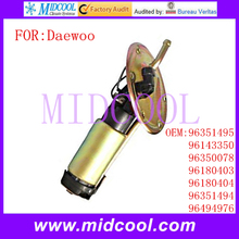 New Fuel Pump Assembly use OE NO. 96351495 , 96143350 , 96350078 , 96180403 , 96180404 , 96351494 , 96494976 for Daewoo