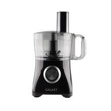 Кухонный комбайн Galaxy GL2302 (Мощность 800 Вт, объем чаши 1,2 л., 3 диска для нарезки, шинкования и приготовления пюре Нож для измельчения)