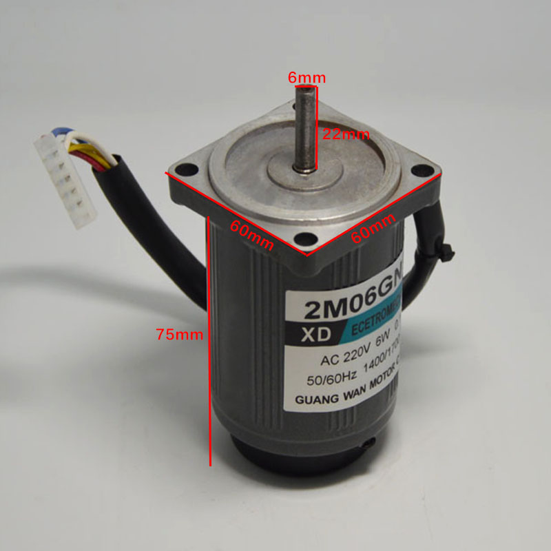 Online buy wholesale small ac motor from china small ac for Single phase ac motor control