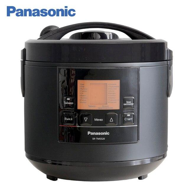Panasonic SR-TMS520KTQ Мультиварка 5л, 18 программ включая йогрут, холодец, варенье, режим самоочистки, чаша с антипригарным покрытием, таймер 24ч, отсрочка 24ч, ЖК дисплей, пароварка с регулируемой глубиной.
