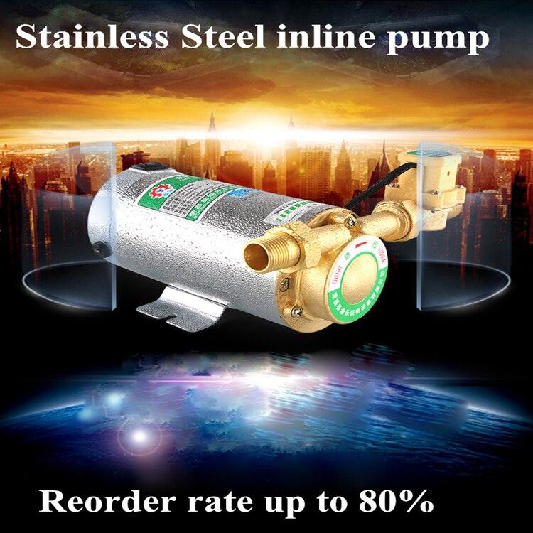 Pompe de surpression d'eau chaude de chaudière de chauffage utilise la mini pompe de surpresseur de roulement importée japonaise
