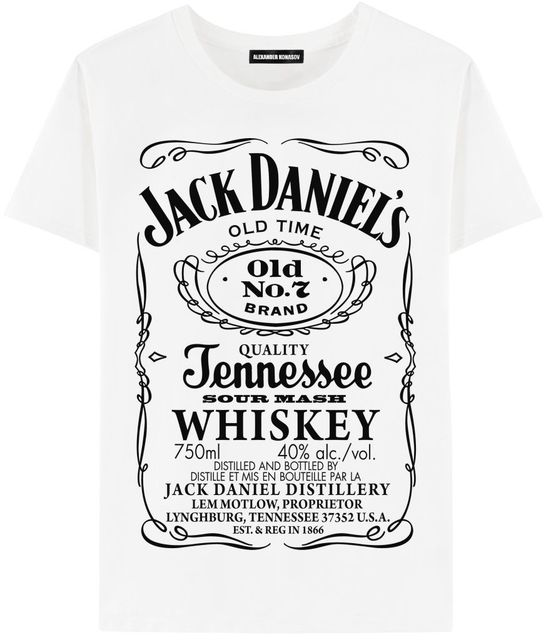 bf366c0be Tshirt Jack Daniels Russia t shirt print fashion style men boys cute ...