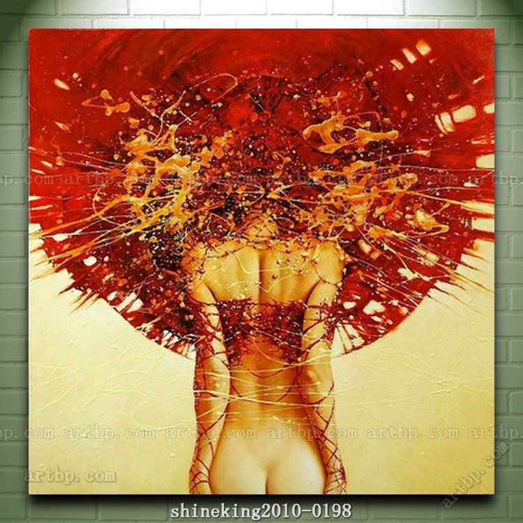 Figure Canvas High quality Modern Oil Painting Picture oiled On