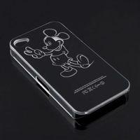 комикс микки мышь привет Китти светодиодные электропитание мобильный телефон чехол для айфон 4с автоматический меняющий цвет иметь вызова жёсткая чехол с d405