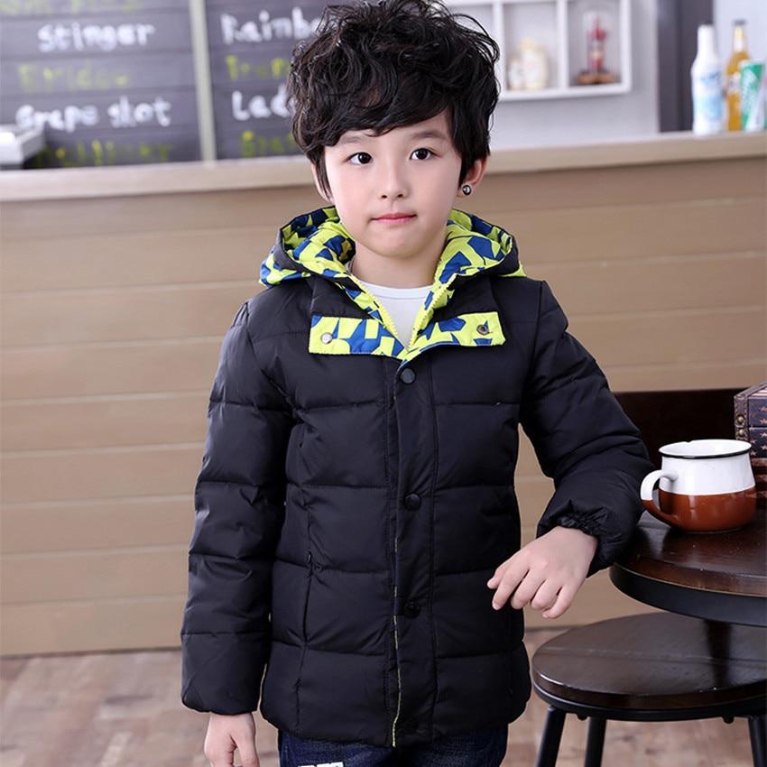 2016 Fashion Children s Down jackets coats winter font b baby b font Coats thick duck