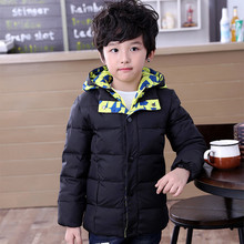 2016 Fashion Children's Down jackets/coats winter  baby Coats thick duck Warm jacket boys&girls Outerwears jackets for 6-13yr