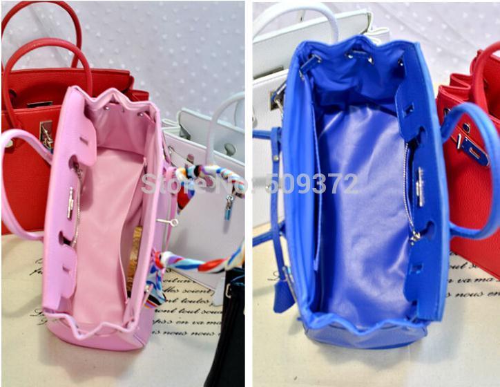 bags handbags women famous brands silver lock bag designer High quality leather shoulder bag tote bag with scarf