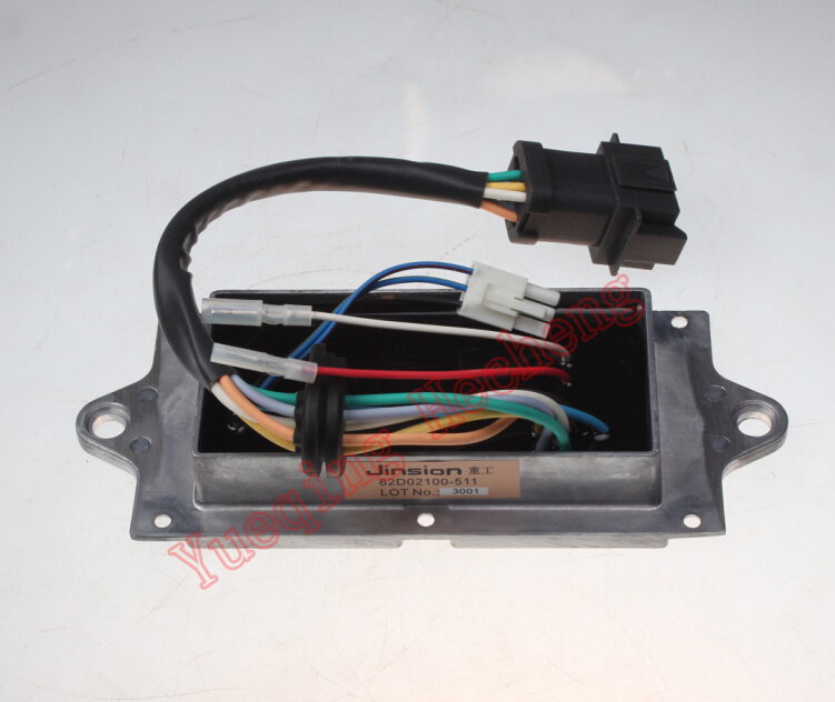 Drive Panel Throttle Motor Assembly Fit for 312C 312C Excavator Free shipping
