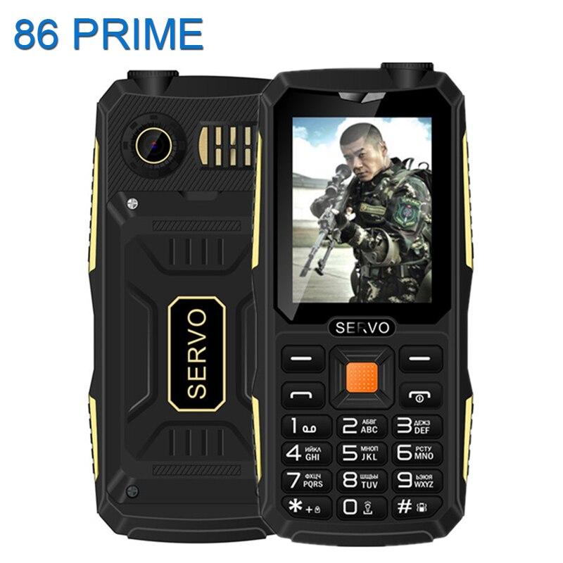 Original Servo V3 Quad Sim Mobile Phone Dustproof Shockproof 2 4 inch Phone 4 SIM cards