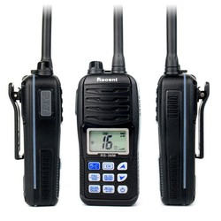 Floatn Marine VHF Radio Walkie Talkies RS-36M WaterProof IP67 interphone Handheld emergency Transceiver transmitter