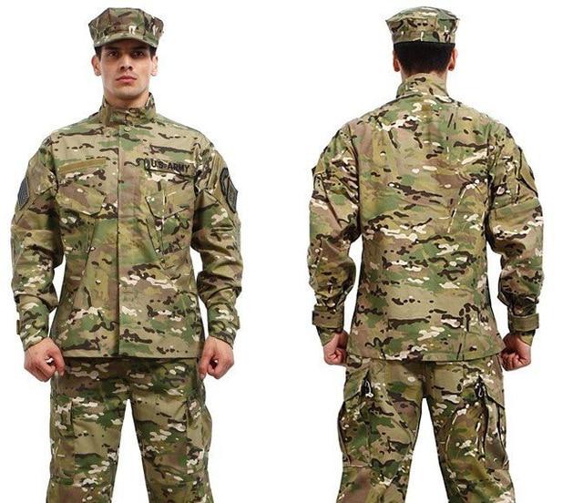 9 цветов! военная Тактическая рубашка + брюки multicam униформа камуфляж военный мундир армейского обмундирования