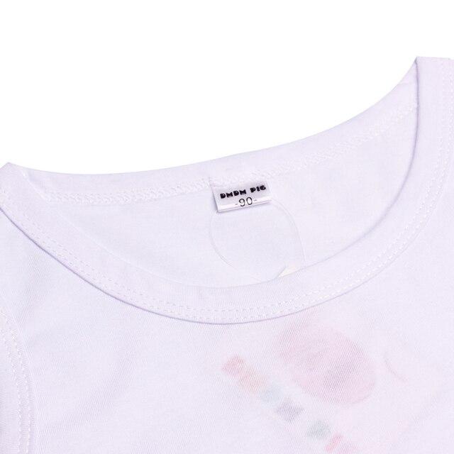 DMDM PIG Summer Kids Children's Clothing 3D T Shirt Baby Boy Girl Clothes T-Shirt Teens T-Shirts For Boys Girls 5 years Tshirt 1