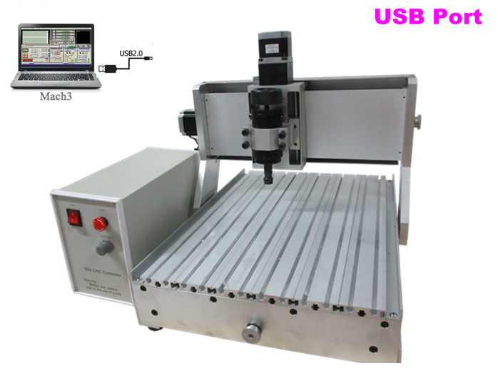 3040Z-D500W MINI CNC Router CNC 3040 Engraving machine with usb port  for wood, metal, aluminum working 500w mini cnc router usb port 4 axis cnc engraving machine with ball screw for wood metal