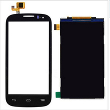 New Black White Touch Screen Digitizer Glass Sensor + LCD Display Panel Screen For Alcatel One Touch Pop C5 OT-5036 5036D 5036A