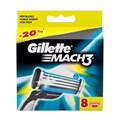 Replaceable Razor Blades for Men Gillette Mach 3 Blade shaving 8 pcs Cassettes Shaving  mak3 shaving cartridge mach3
