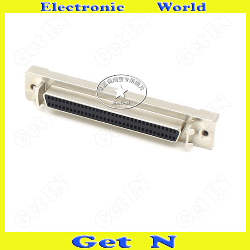 5pcs SCSI 68PIN Female Board Connector Straight Leg Female Plug 69PIN PCB SCSI Adapter