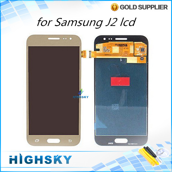 Lcd Screen for Samsung Galaxy J2 J200 J200F display with touch digitizer replacement parts 1 piece free shipping