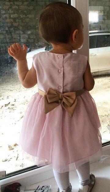 Шикарное платье для девочки с Алиэкспресс