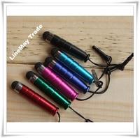 100 шт мини стилус касание ручка с пластик материал емкостный касание ручка для мобильный телефон планшетный пк