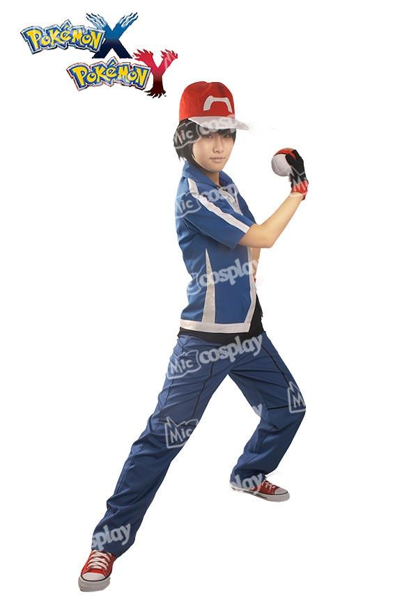 Ash Ketchum Cosplay Disfraz Unisex Ropa