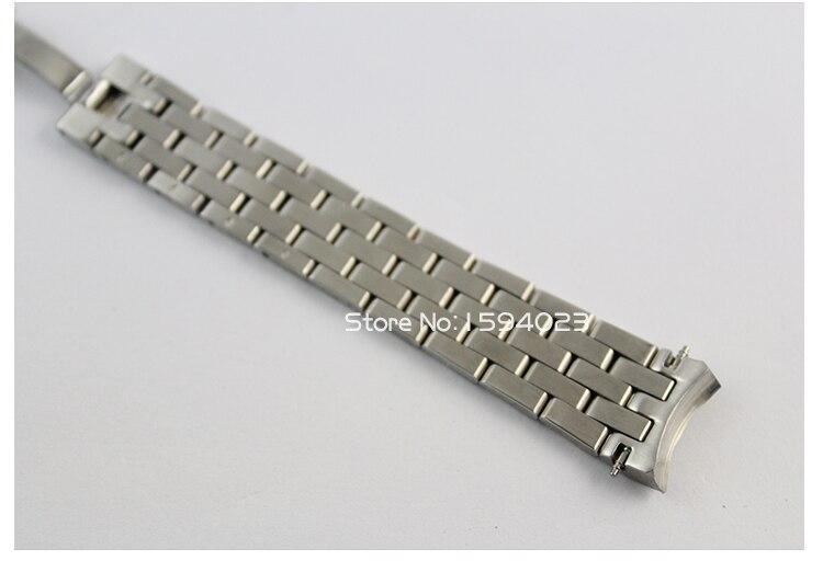 15mm m7600 pulseira de relógio sólido 316l