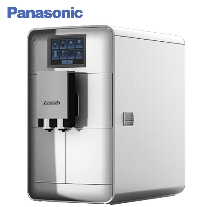 Panasonic NC-ZA1HTQ Coffee machine automatic, built-in coffee grinder, cafe household,  full automatic, touch panel. panasonic nc gk1wtq