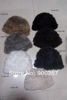 новое постулат колики мех шапка теплые шапки ручной вязки шляпы рождественский подарок 7 цветов fs121213001 опт и Роза