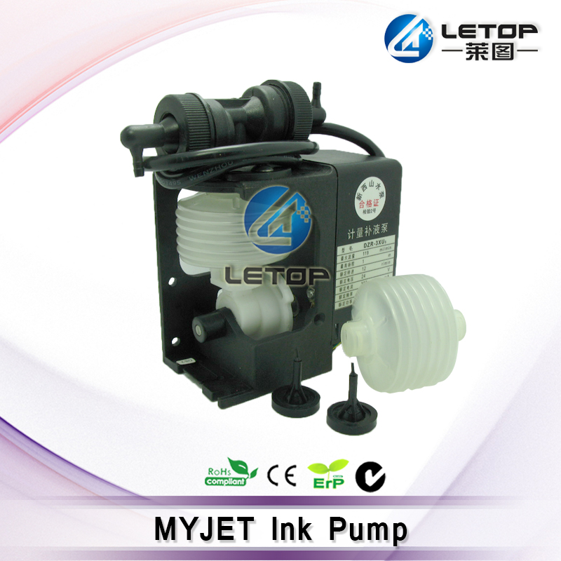 High Quality.MYJET Ink Pump 24v 119ml/min for Large Format MYJET Solvent Printer mutoh vj 1604w rj 900c water based pump capping assembly solvent printers