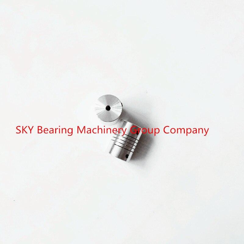 20pcs Aluminium Plum Flexible Shaft Coupling 6.35mm to 12mm Motor Connector Flexible Coupler 6.35mmx12mm D25mm L30mm oldham $ coupling flexible coupling motor coupling d25l30