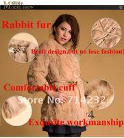 бесплатная доставка 1 шт. распродажа воды животных натуральный мех колики Rex женская Sub долго slveeve зимняя куртка женская пальто