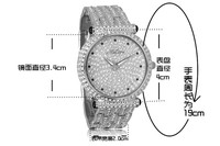 2013new Рош марка часы женщины платье часы дамы часы кварц полный Alma гр rustle mantianxing тенденция женщины часы