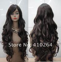 jewelry_wig $ шатен длинная вьющийся парик + кепка + подарок