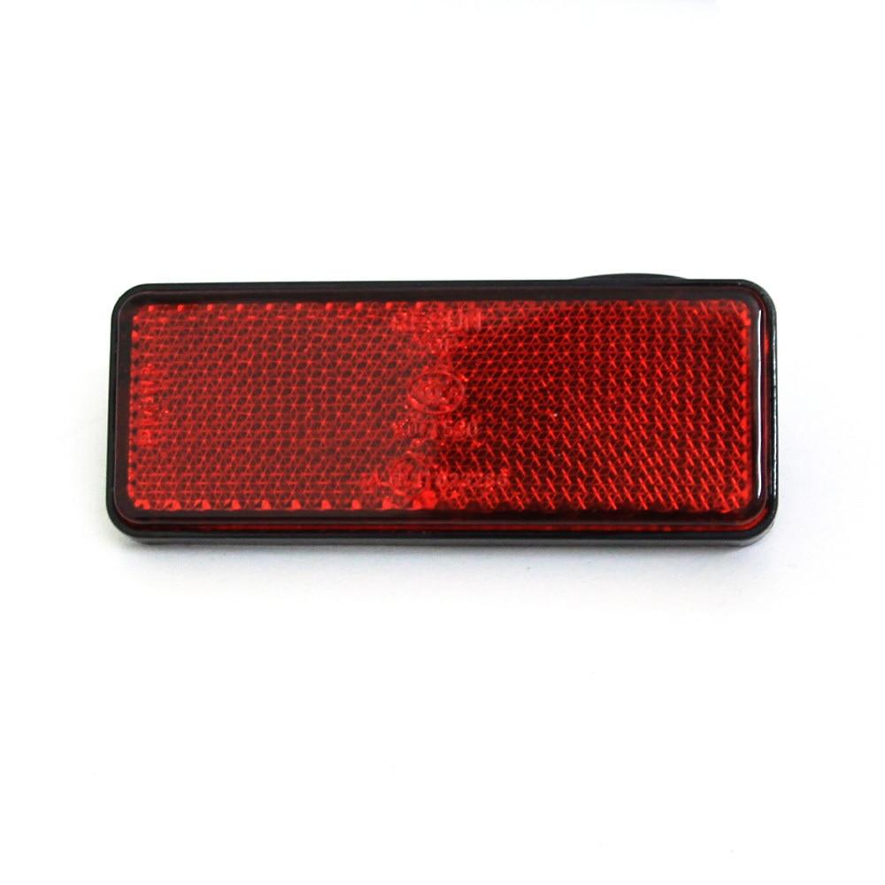 1 шт.* Красный Прямоугольник Красный Лен Светодиодный отражатель тормозной Светильник Универсальный мото rcycle тормозной светильник автомобильный тормозной светильник s мото стоп-светильник