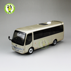 1/32 Scale China YuTong T7 Diecast Bus Model Toys Gift Hobby Collection