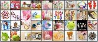 комикс лента милый цвет самостоятельно-пластиковые клейкий стикер канцелярские офис клейкий рукоделие подарок 100 рулон / много это 0311